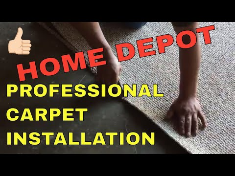 HOME DEPOT PROFESSIONAL CARPET INSTALLATION