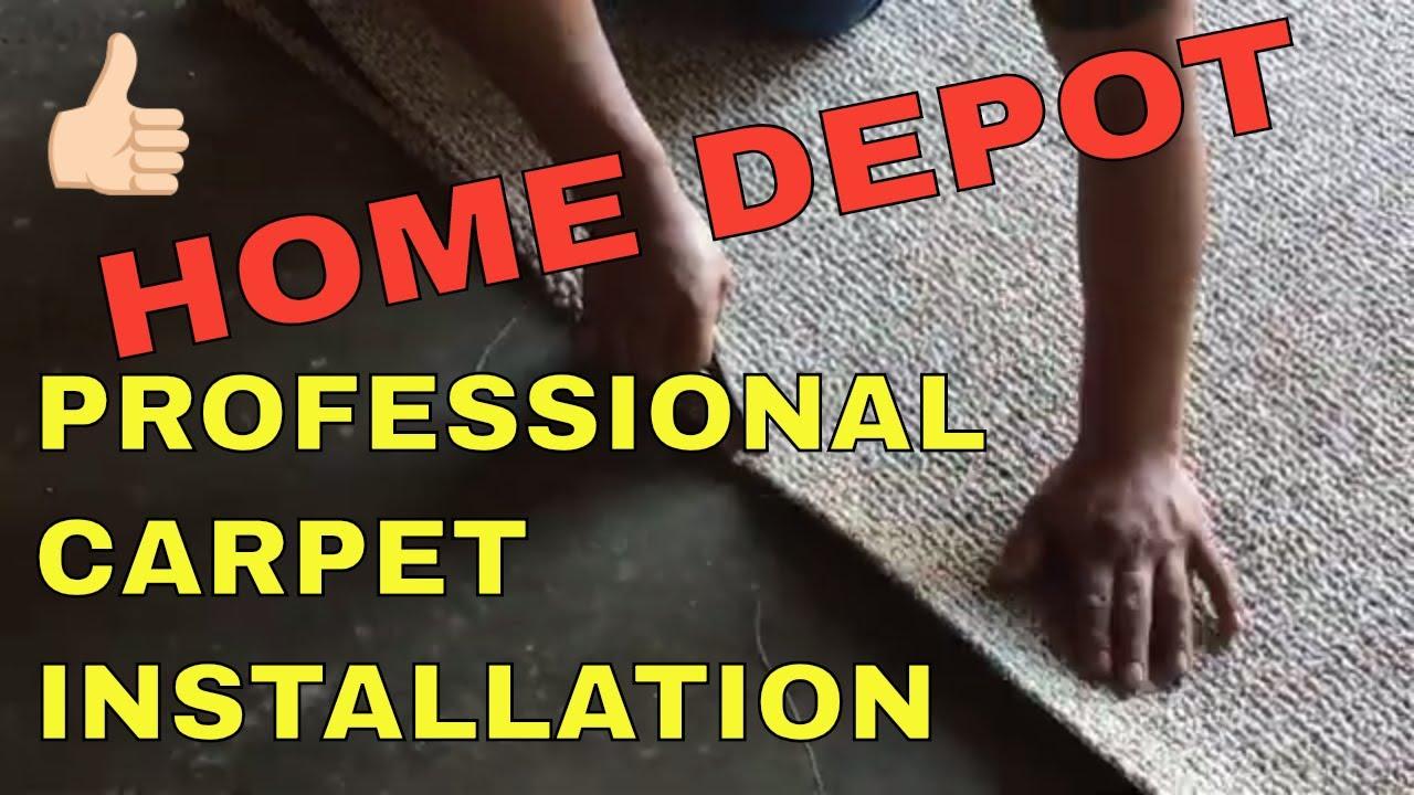 Home Depot Professional Carpet
