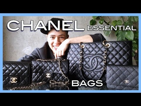 CHANEL essential bag selection