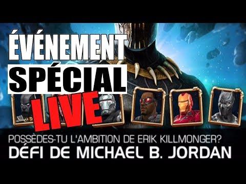 [LIVE] DÉFI DE MICHAEL B. JORDAN 100% - aka KILLMONGER