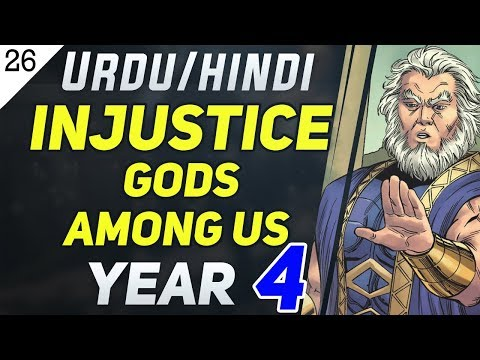 Injustice Gods Among US Year 4 Chapter 23 & 24 [ Final Episode 9] comic Explained in Urdu/Hindi