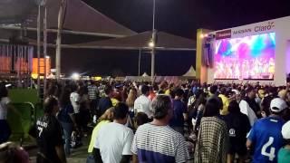 リオオリンピック パーク内 ステージ