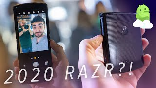 Motorola RAZR 2020: Flip phones are BACK!