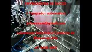 311- Envasadora automática para sucos e polpa de frutas + Tampador