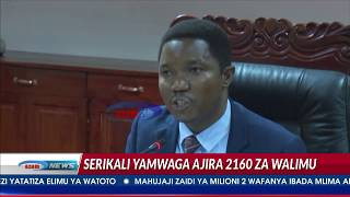 Serikali 'yamwaga' ajira mpya zaidi ya 2000 kwa kada ya Ualimu