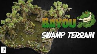 Wie Man Bayou Swamp Gelände