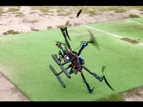 APM 2.6 Tarot FY680 Hexacopter Afro 30a ESC Turnigy Multistar 3508-640Kv Tarot GoPro Gimbal