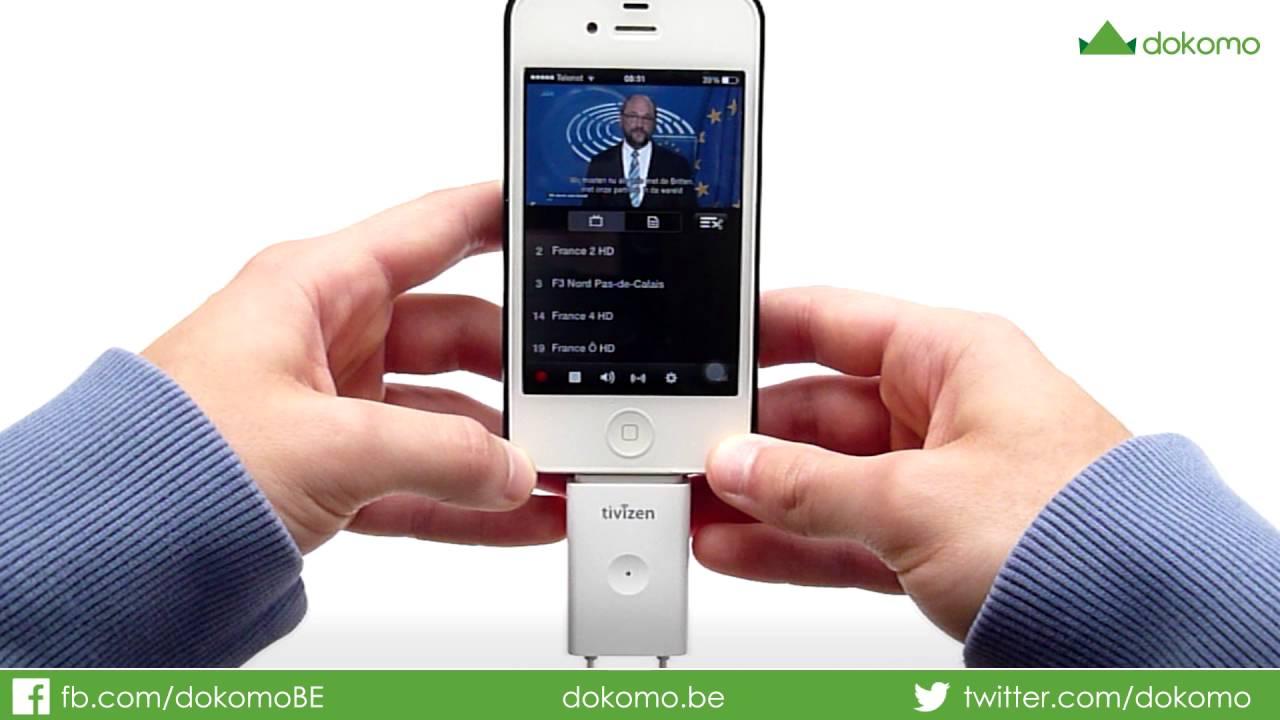 tv op smartphone