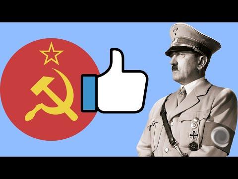 Почему СССР поддержал Гитлера?