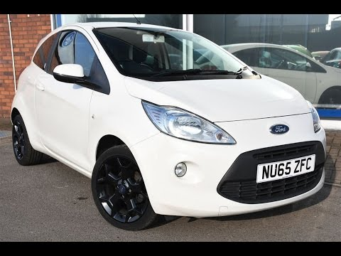 Used Ford Ka   Zetec White Edition Dr White