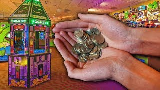 WINNING LOTS OF ARCADE JACKPOTS FOR ONLY 5 CENTS!