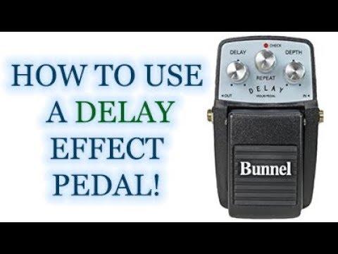 Bunnel Delay Effects