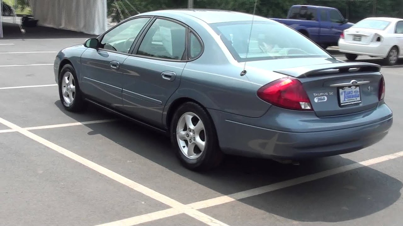 For Sale 2000 Ford Taurus Se    Only 60k Miles    Stk