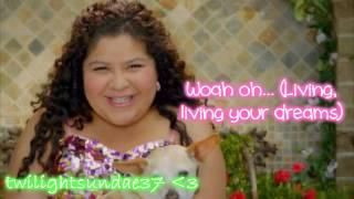 Raini Rodriguez- Living Your Dreams Lyrics