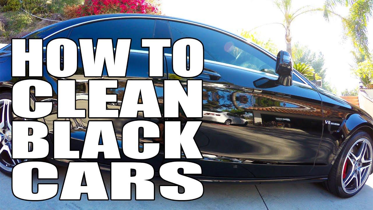 How to Keep a Black Car Clean - Global Cars Brands  |Clean Black Truck