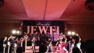 Aim High Demo Team performance at the awards dinner - Pacific Jewel Nationals Martial Arts Tourney