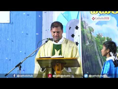 Novena Day - 4, English Mass @ Shrine of Our Lady of Health, Khairatabad, HYD, TS, IND. 2-9-19