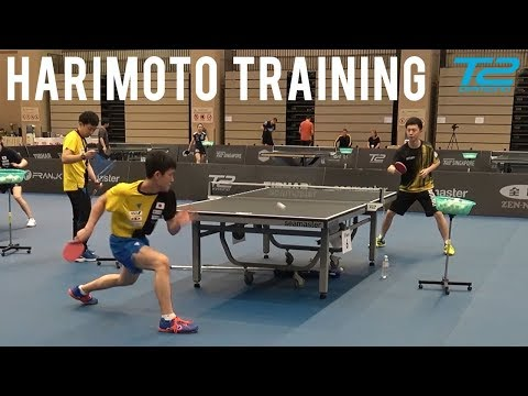 Tomokazu Harimoto Training | T2 Diamond 2019 Singapore
