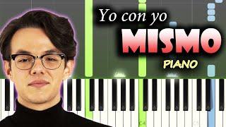 Flavio - Yo con yo mismo | Piano Tutorial / Cover + Letra