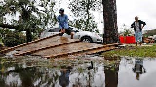 El huracán Michael descarga su fuerza en Florida