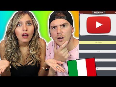 LA MIA RAGAZZA FA IL TEST SU YOUTUBE ITALIA