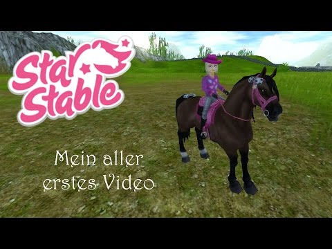 [Star Stable] Mein aller erstes Video (zum kaputt lachen ^-^)