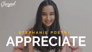 Stephanie Poetri - Appreciate [Lyrics]