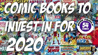 Comic Books to Invest in for 2020 | Berkfamily54comics
