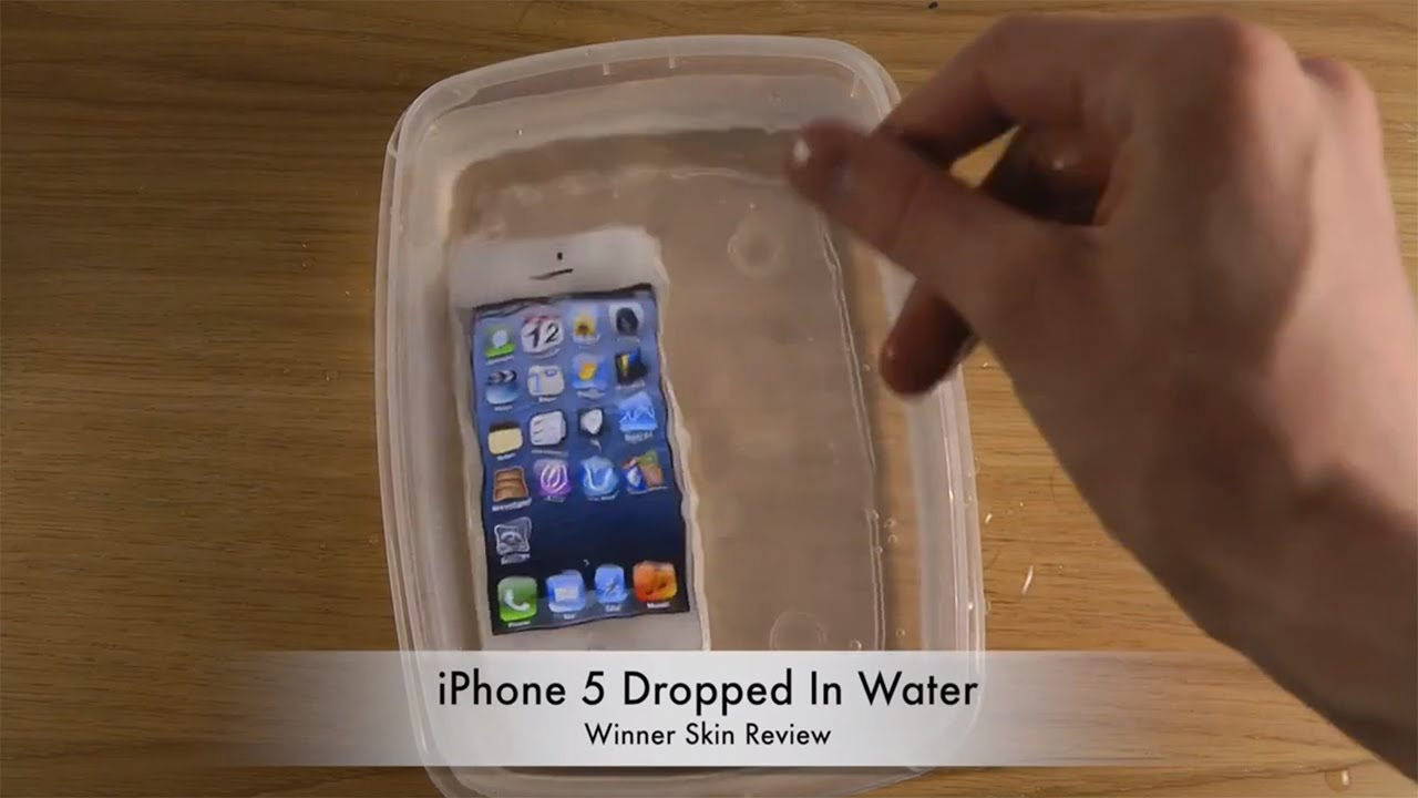 i dropped my iphone in water iphone 5 dropped in water winner skin review 19282