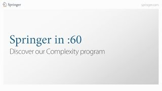 Springer in :60 - Complexity