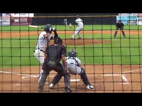 Nelson Gomez August 22-23 27 29 2018 vs Princeton Elizabethton
