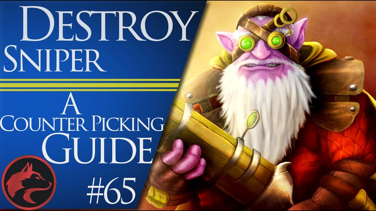 how to counter pick sniper dota 2 counter picking guide 65