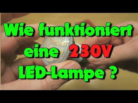 Wie funktioniert eine 230V LED ?
