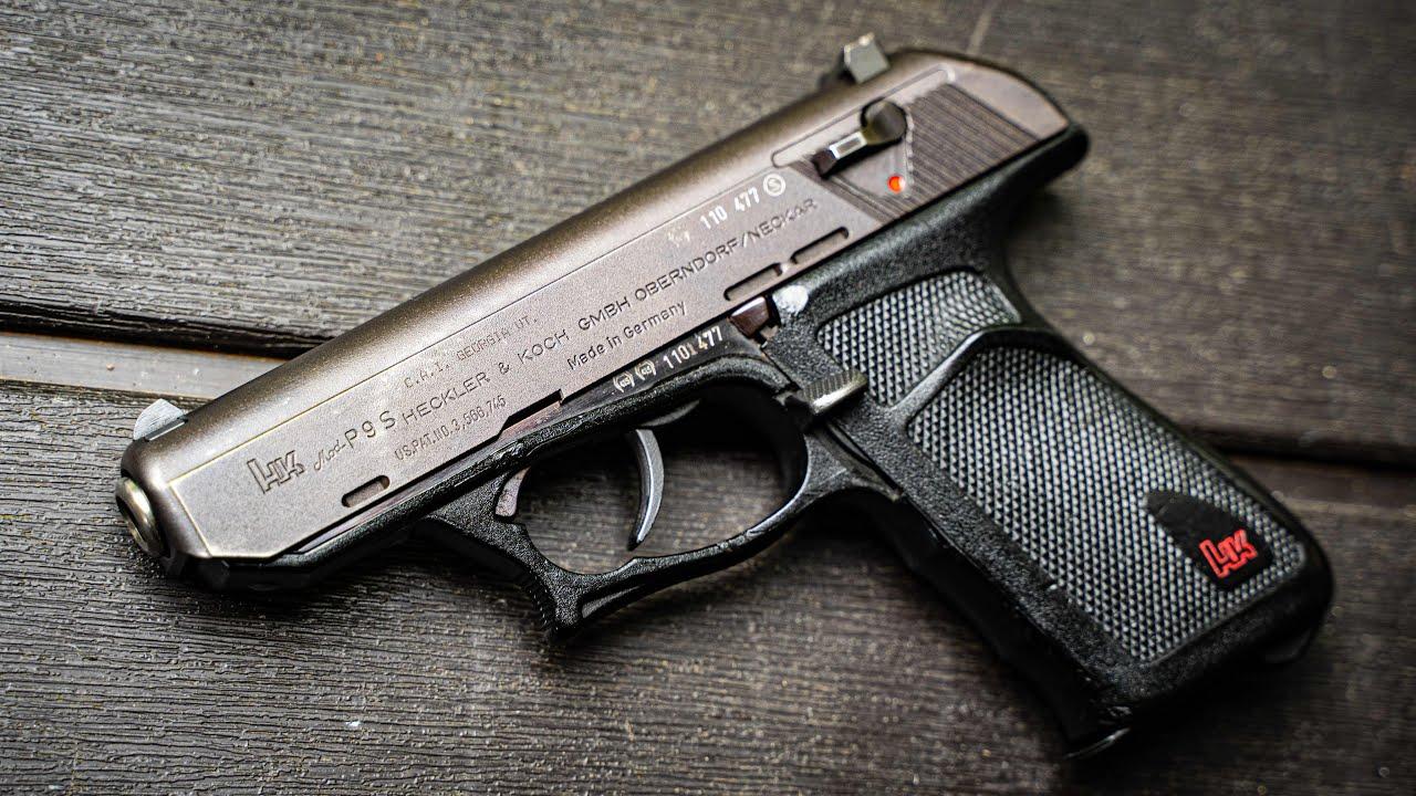 Hk P9 | Roller Delayed Handgun? #Shorts