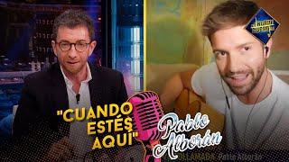 """Pablo Alborán nos canta """"Cuando estés aquí"""" - El Hormiguero"""