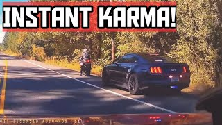 INSTANT KARMA AT BEST|Drivers busted by cops for speeding,brake checks, Bad driving|Instantjustice