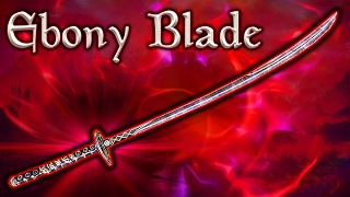 Skyrim SE - Ebony Blade - Unique Weapon Guide