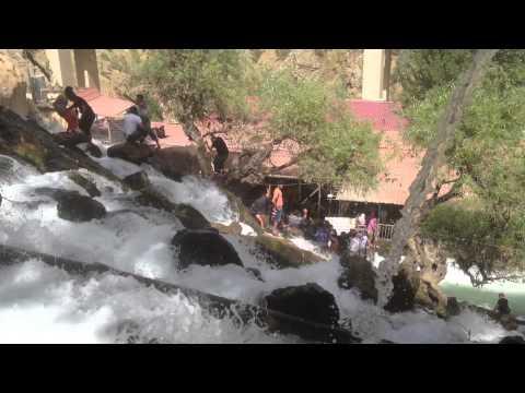Bekhal waterfall -- Iraqi Kurdistan