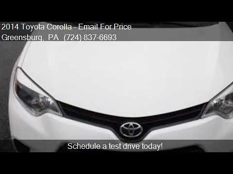 2014 Toyota Corolla LE ECO for sale in Greensburg, PA 15601