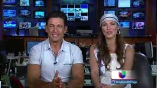 12.03.14 - Blanca Soto y Fernando Colunga Obscuro Total en Chicago