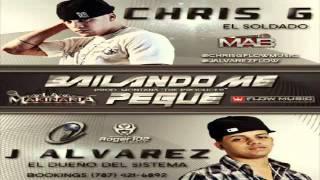 Repeat youtube video Chris G Ft. J Alvarez - Bailando Me Pegue NEW NUEVO [ © HoyMusic.Com ]