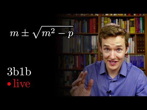 The simpler quadratic formula | Lockdown math ep. 1