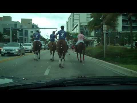 Maserati Miami Beach Polo World Cup Parade