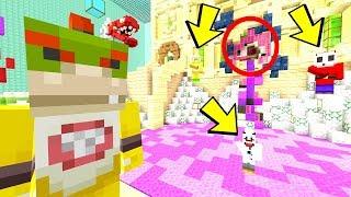 DARKNESS CREATED THANOS LAKE! *BOUNCEY!* | Nintendo Fun House | Minecraft [348]