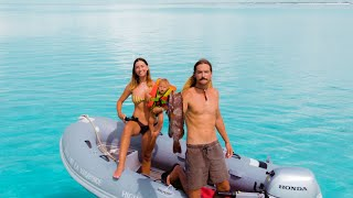 boat-life-spearfishing-with-a-baby-grouper-fish-head-soup