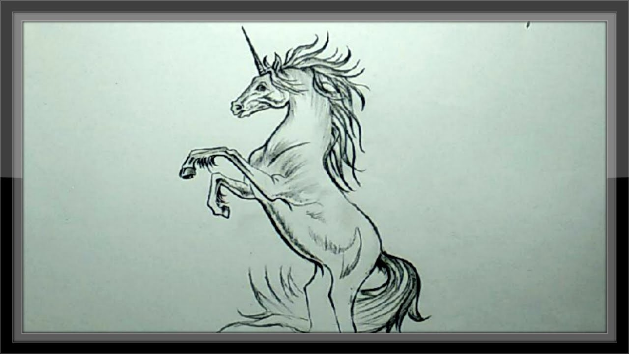 Uniconpencildrawing Easy Pencil Sketch