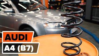 Rėmas, stabilizatoriaus tvirtinimas keitimas AUDI A1 2019 - vaizdo pamokomis