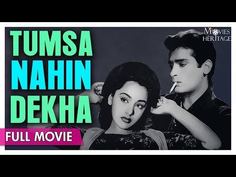 Tumsa Nahin Dekha 1957 Full Movie | Shammi Kapoor , Ameeta | Hindi Classic Movies | Movies Heritage