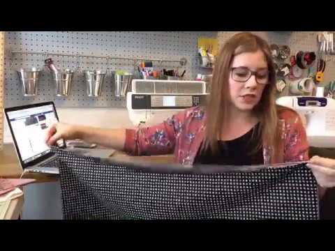 Learn To Sew 101- Lesson 1 - From Threading The Machine To Learning How To Sew A Pillowcase