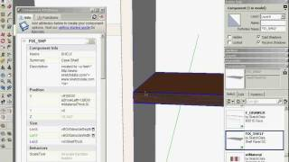 Sketchup Dynamic Components For Cabinets